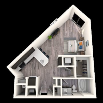Apartment 168 floor plan