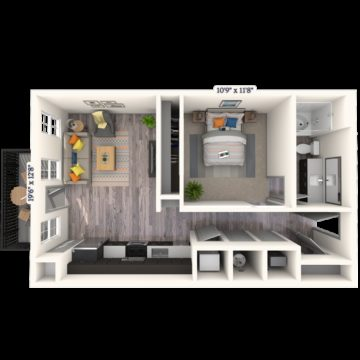 Apartment 155 floor plan